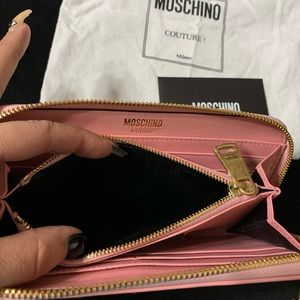 Moschino Pink Wallet
